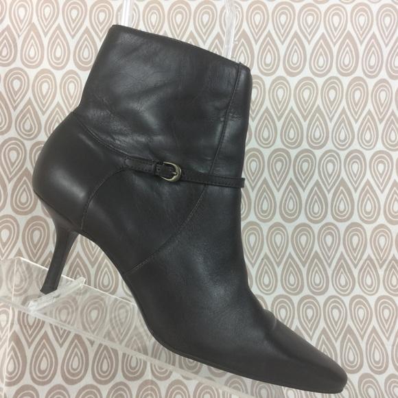 6278c5f4d Ann Taylor Loft Shoes | Womens Brown Boots Size 65 M S377 | Poshmark